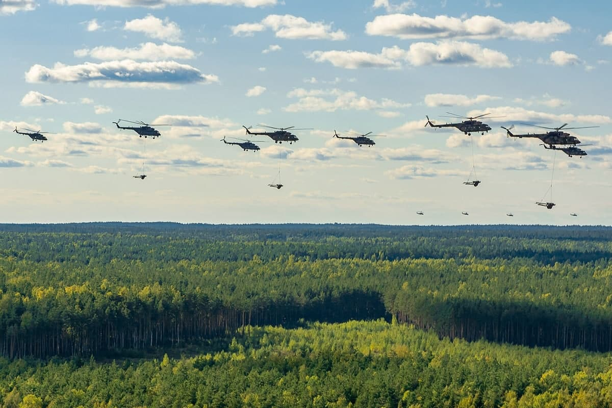 Footage: Russian Military Novelties Deployed At Zapad-2021 Exercises