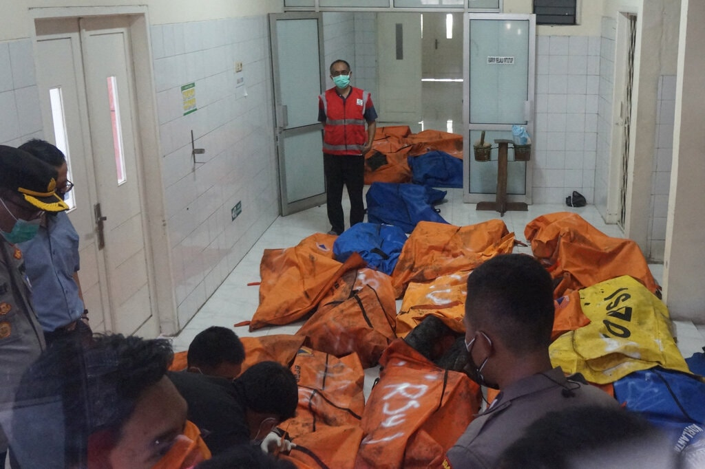 Fire In Overcrowded Indonesian Prison Leaves At Least 40 Dead