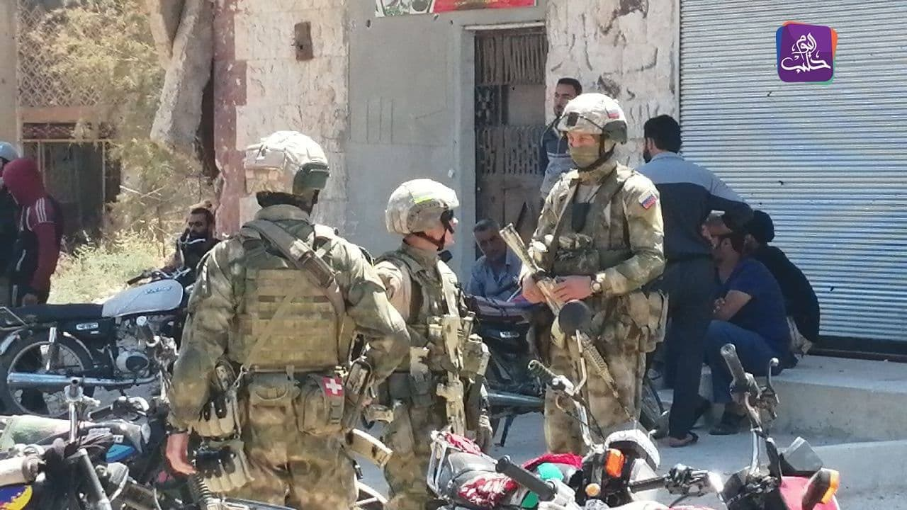 Russian Military Police Trying To Secure New Ceasefire In Daraa Al-Balad