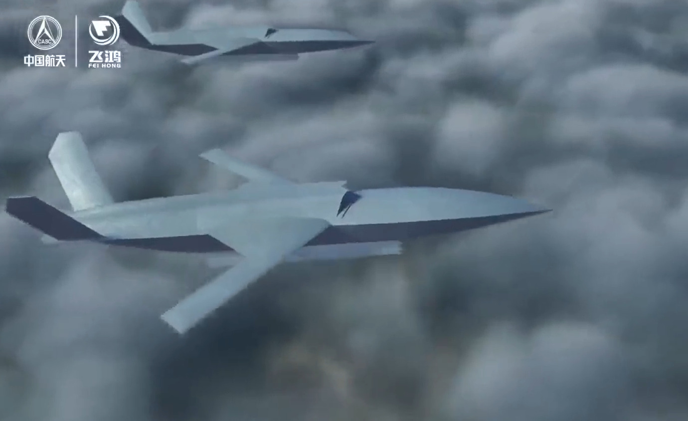China Unveils 'Loyal Wingman' Drone Similar In Design To US XQ-58A Valkyrie