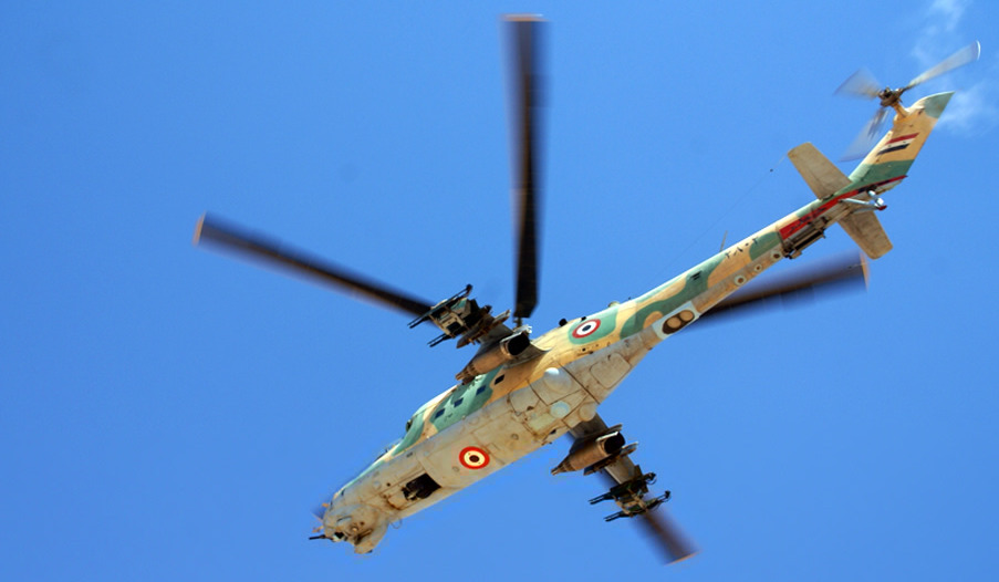 Russian, Syrian Helicopter Pilots Held First Joint Exercise (Video)