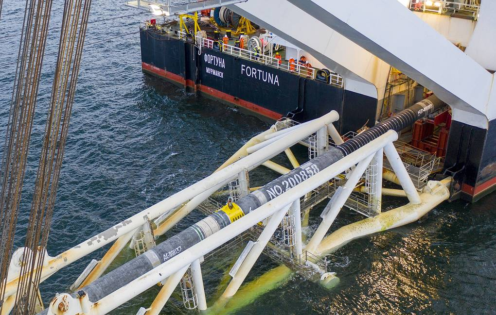 Nord Stream 2 Completed, Expected To Begin Operation In October