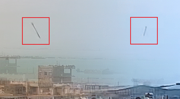 Saud-Backed Forces Share Footage From The Houthis' Recent Attack On Mokha Port (Video)