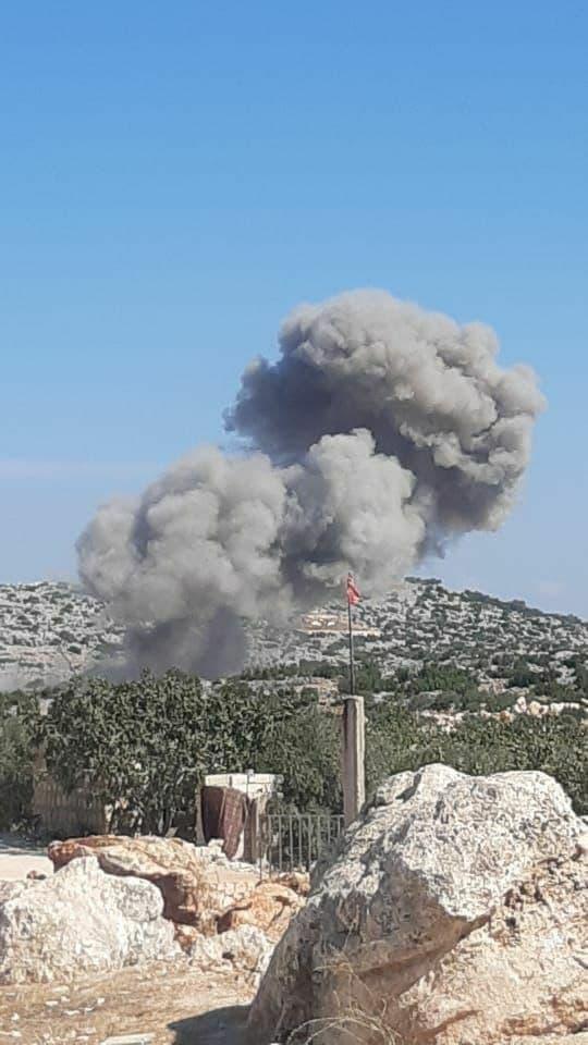 Russian Warplanes Strike Syrian Idlib Militants Closer & Closer To Turkish Military Posts (Videos)