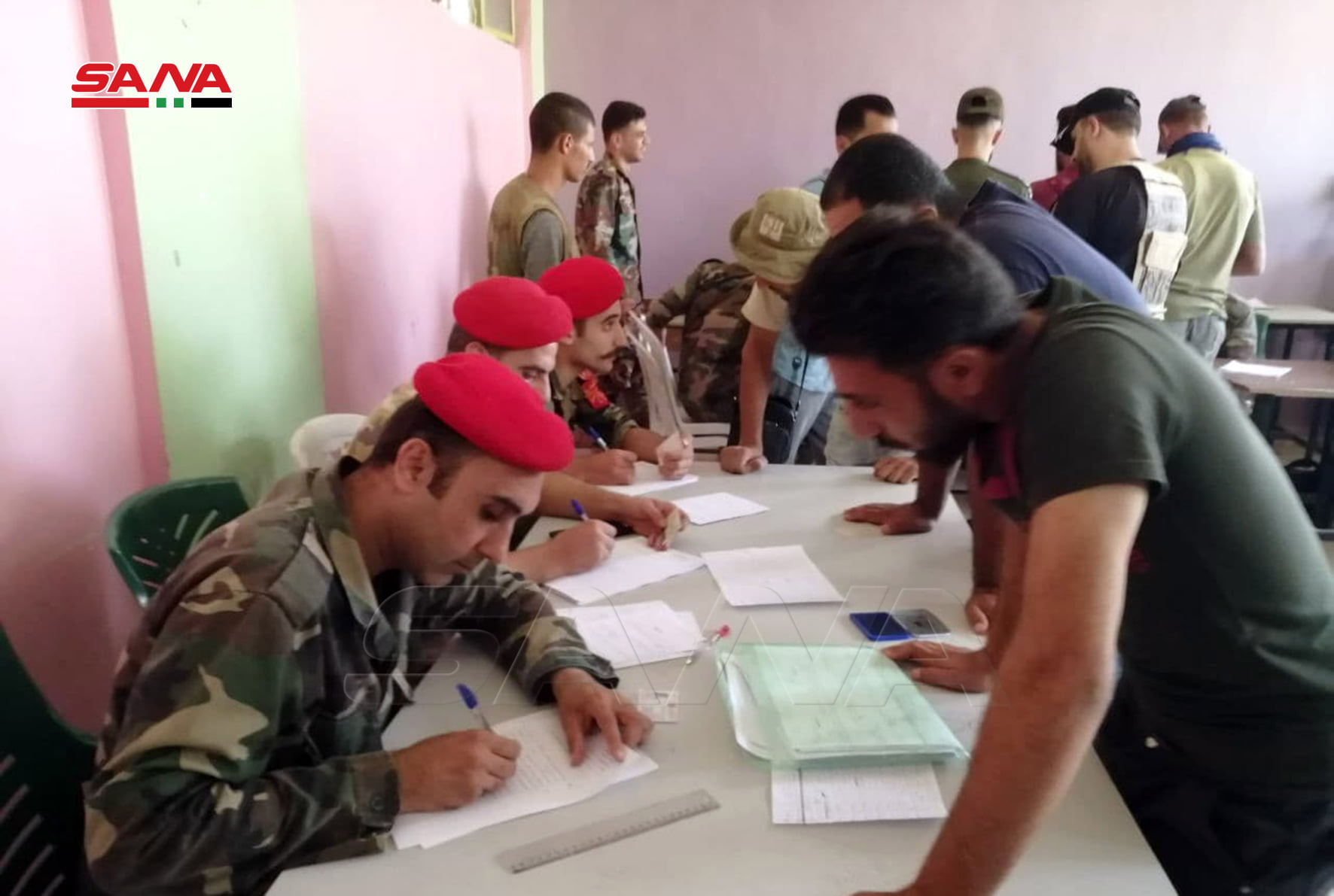 More Towns Join Reconciliation Process In Western Daraa (Photos)