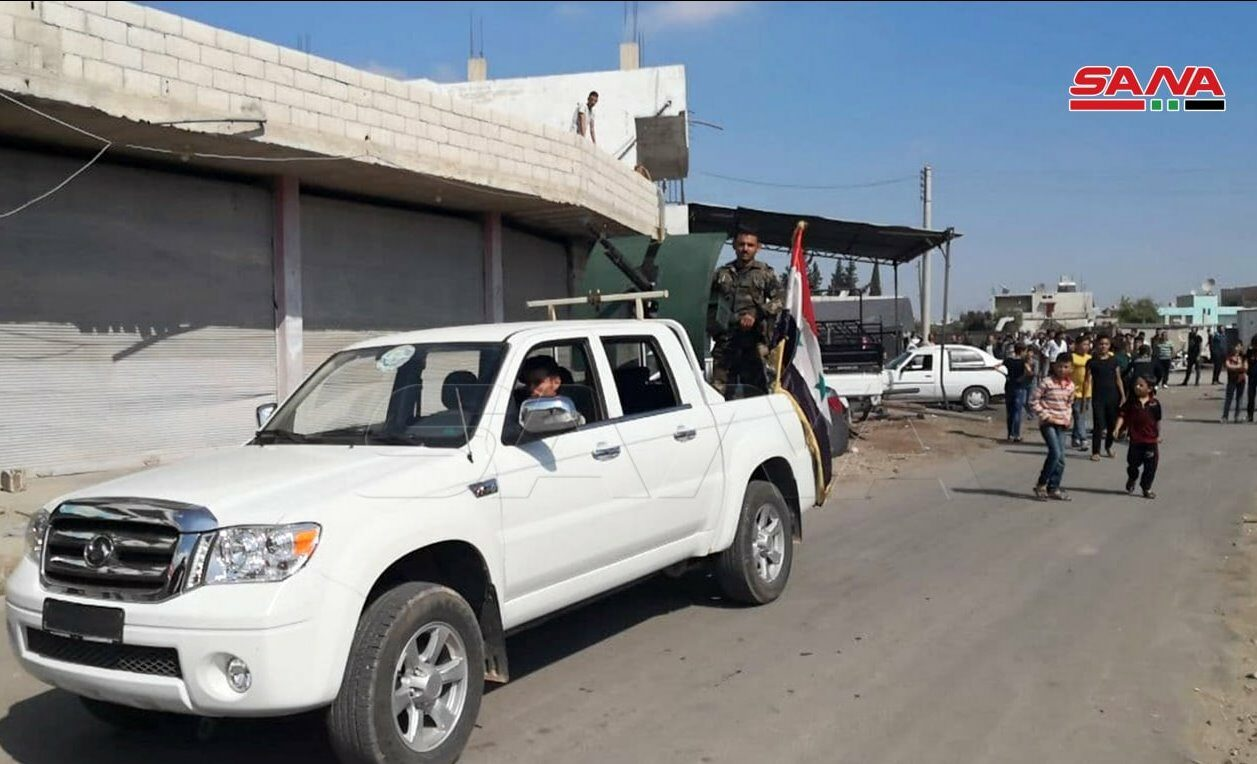 Syrian Army Enters Nawa Town, Deploys More Troops In Western Daraa (Photos)