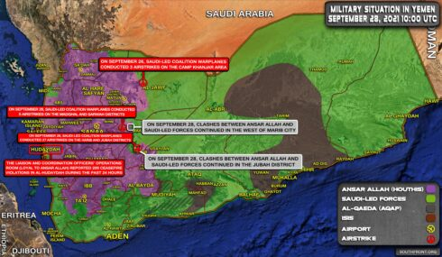 Houthis To Seize Ma'rib, Take Control Over Whole Northern Yemen (Videos)