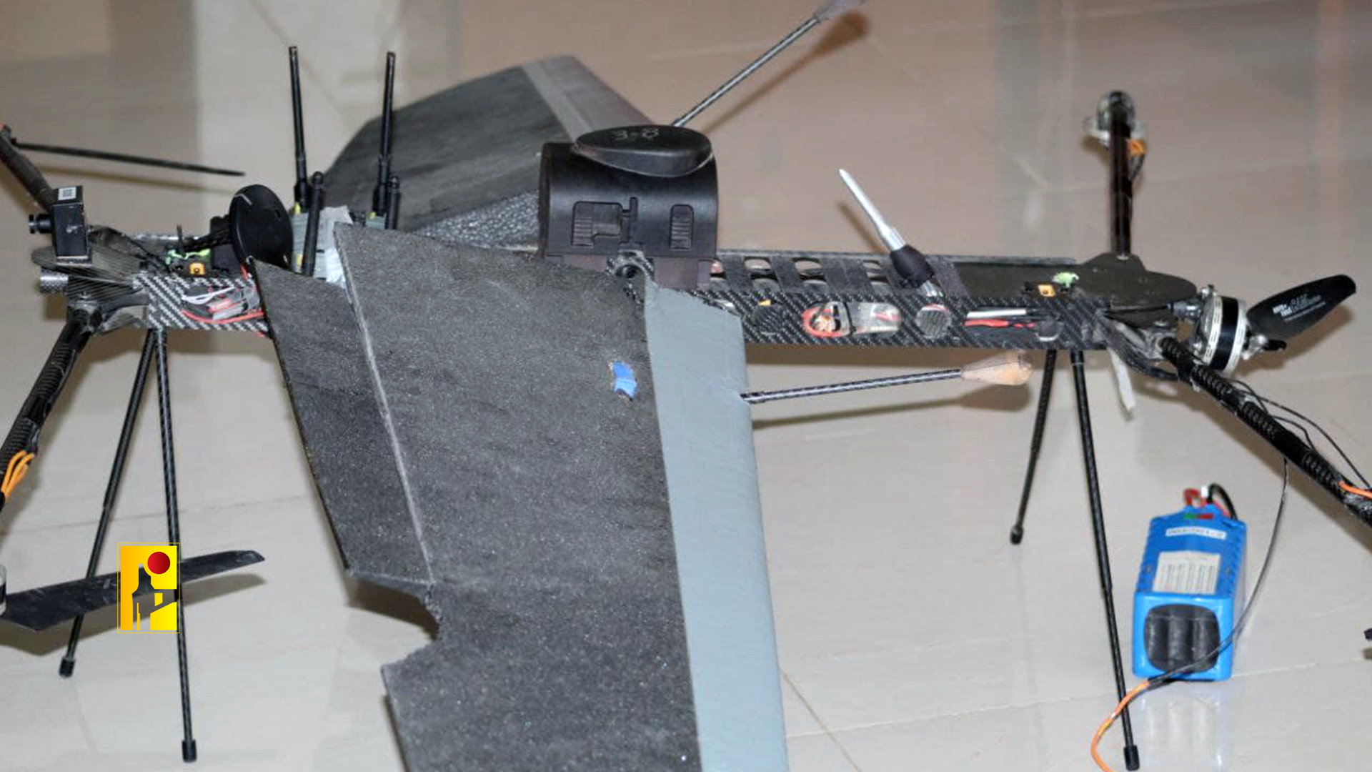 Hezbollah Shot Down Never-Seen-Before Israeli Drone Over South Lebanon (Photos)