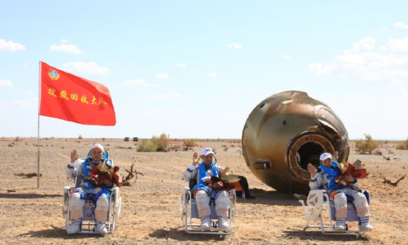 China's Shenzhou-12 Space Mission Crew Safely Lands After 90 Days In Space