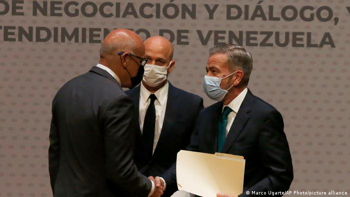 Venezuela's Government And Opposition Work To Mend Fences, Without The U.S.
