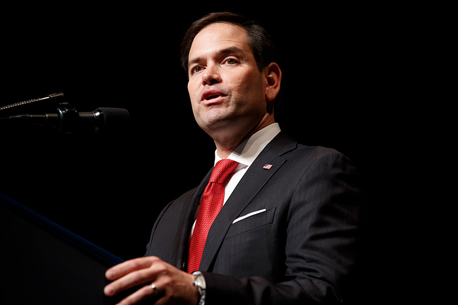 Florida Senator Marco Rubio Encourages Tensions Between China And Lithuania