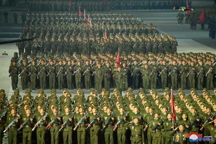 North Korea Celebrated 73rd Anniversary With Large-Scale Night Parade (Photos)