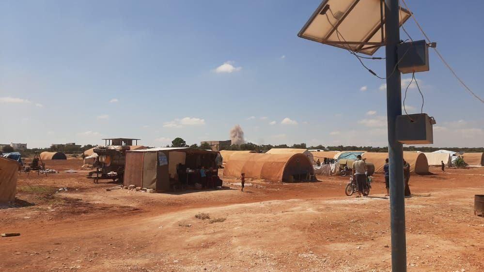 Footage: Russian Warplanes Pound Syria's Idlib Nonstop