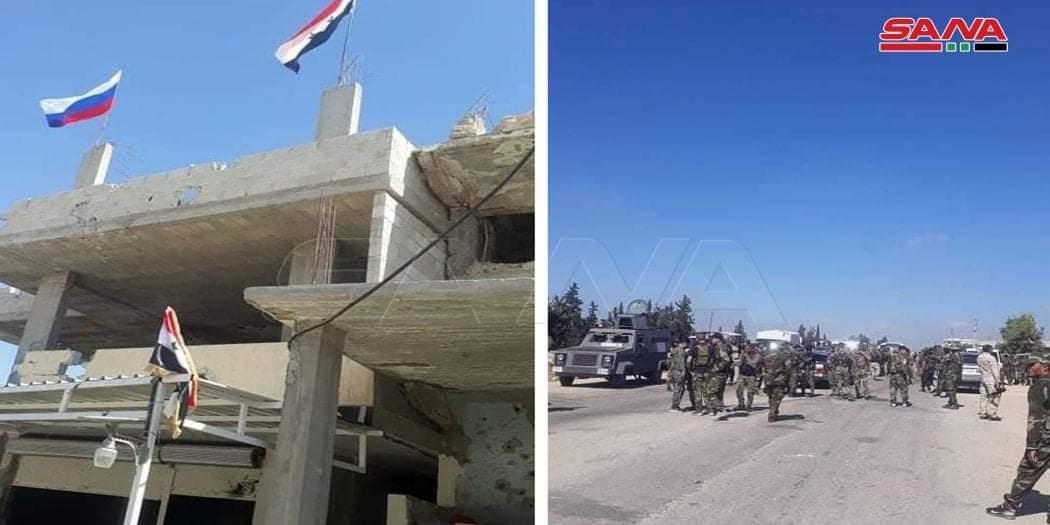 After Dara'a Al-Balad, Syrian Arab Army Enters al-Yadudah Town After 10 Years