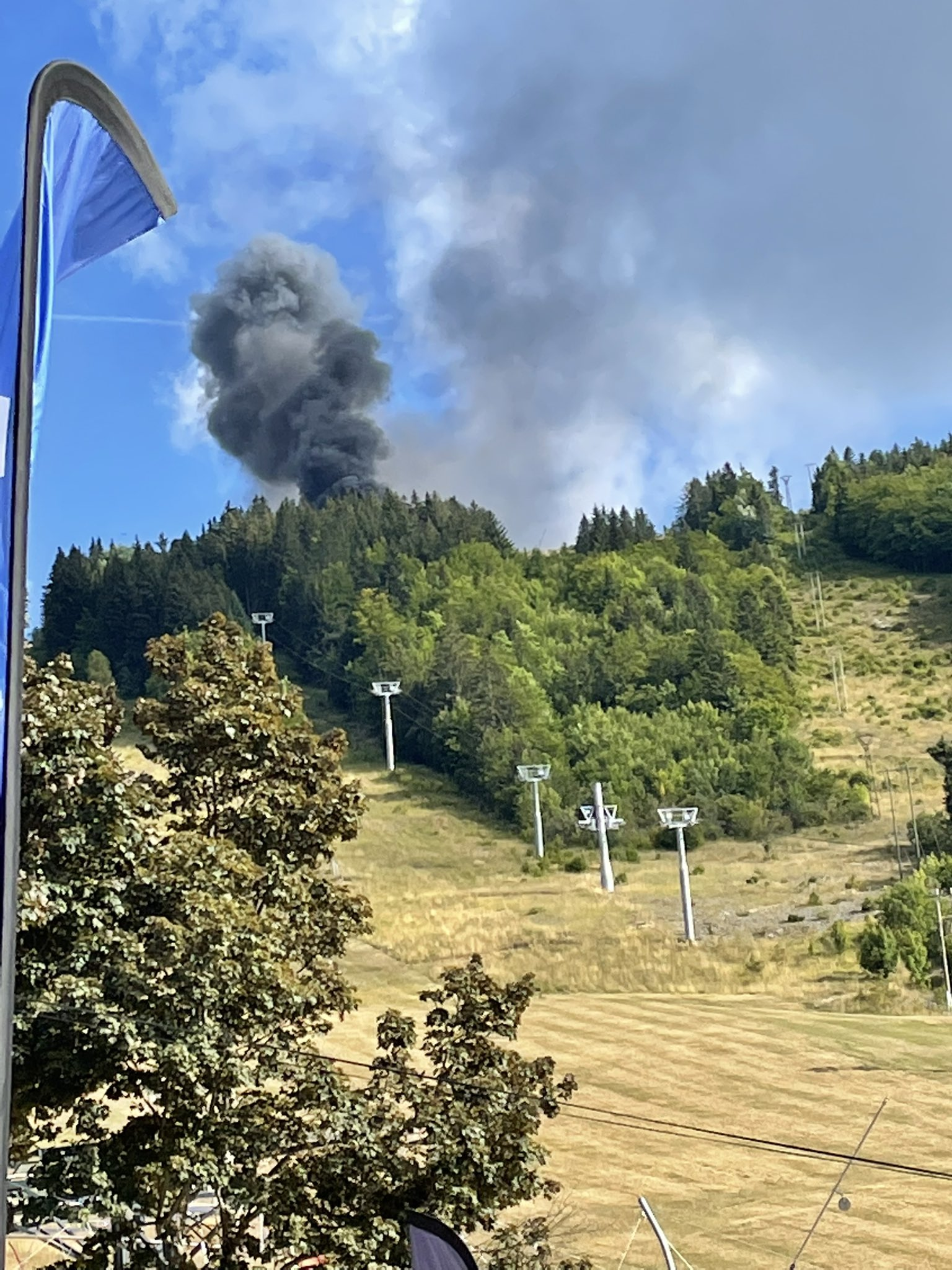 Civil Security Helicopter Crashed In Southeastern France