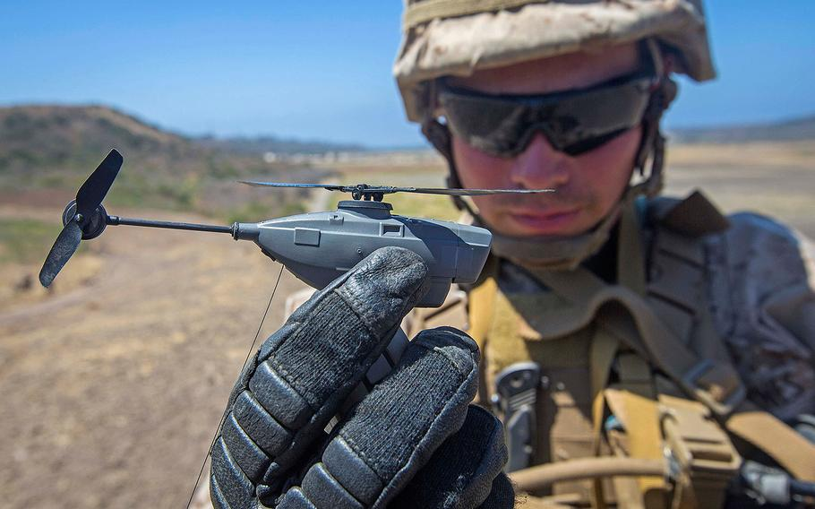 U.S. Army Fast-Tracks Mini-Drones To Be Launched From Helicopters