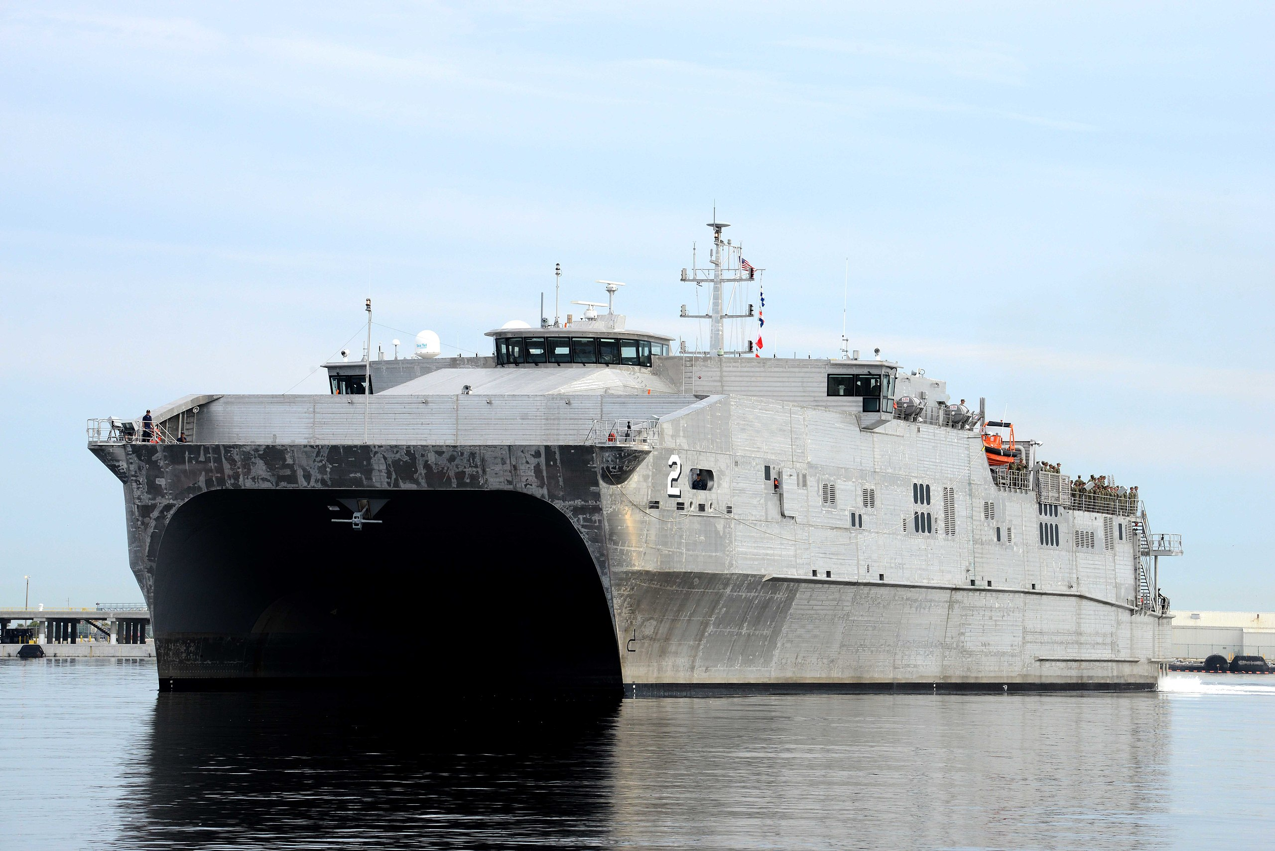 US Navy Ship Arrives In Lebanon On First-Ever Visit