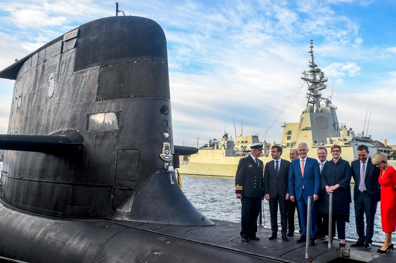 France Cancels Defense Minister Meeting With UK Over Ruined Submarine Deal