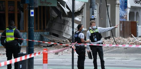 Melbourne Quake: Shaken, Not Stirred