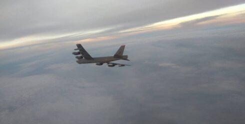 U.S. B-52H Bomber Intercepted Near Russian Border (Photos)