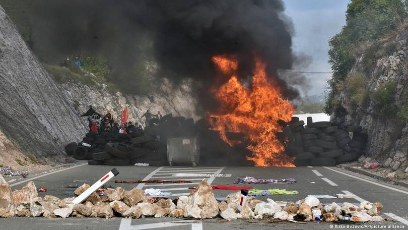 Violent Clashes Over New Patriarch, Church Matters In Montenegro