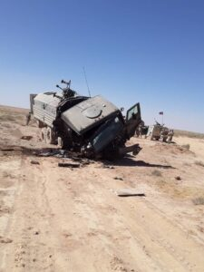 Russian Sources Identified Service Member Killed In Syria, Shared Photos From Attack Scene