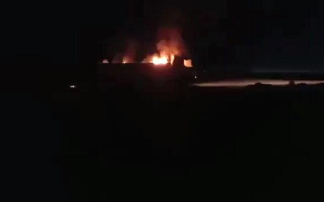 PMU Convoy Struck By Unknown Aircraft On Syria-Iraq Border, U.S. Denies Involvement