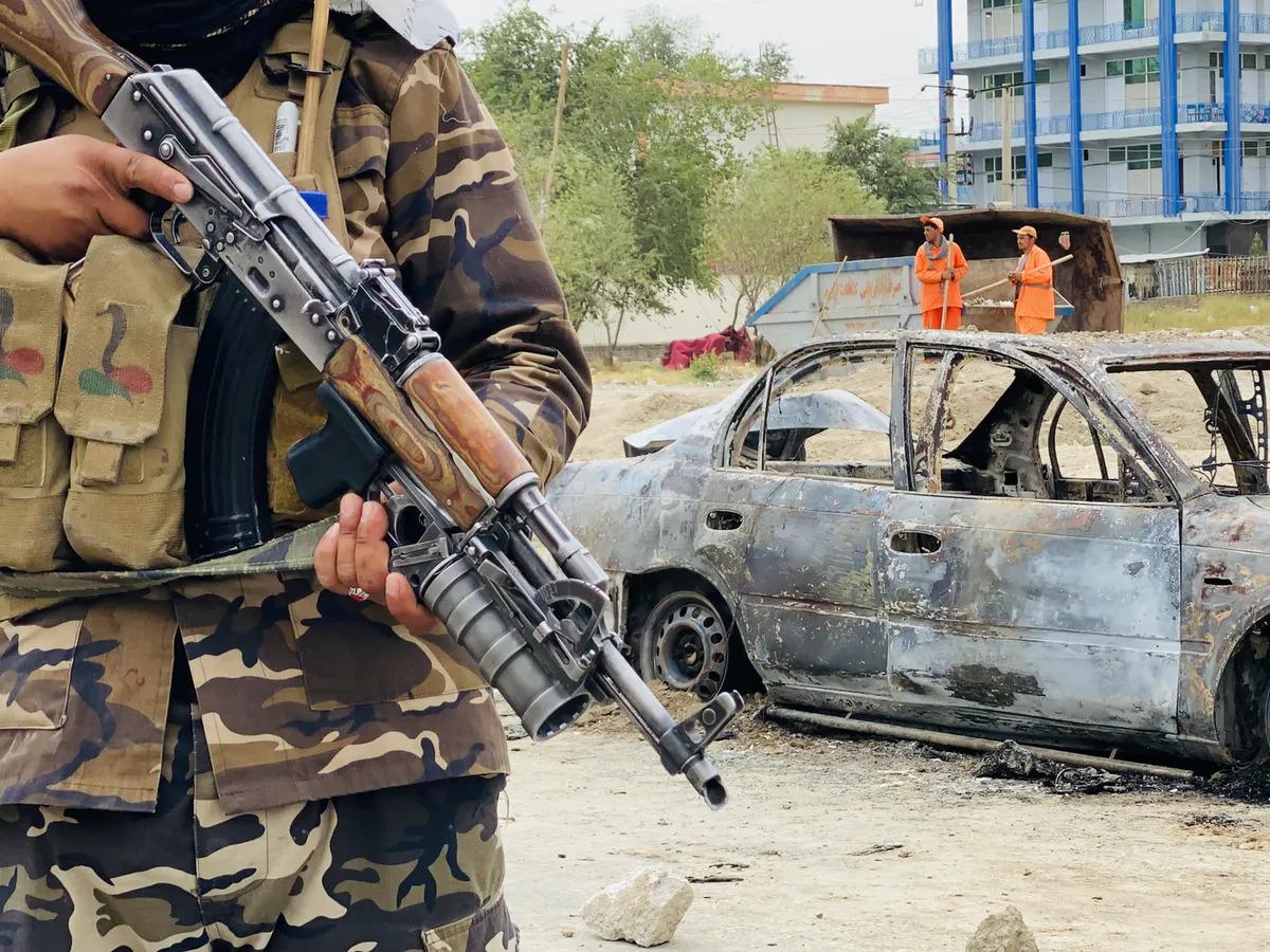 Taliban Say No ISIS, Al-Qaeda In Country As String Of ISIS-K Terror Attacks Rock Jalalabad