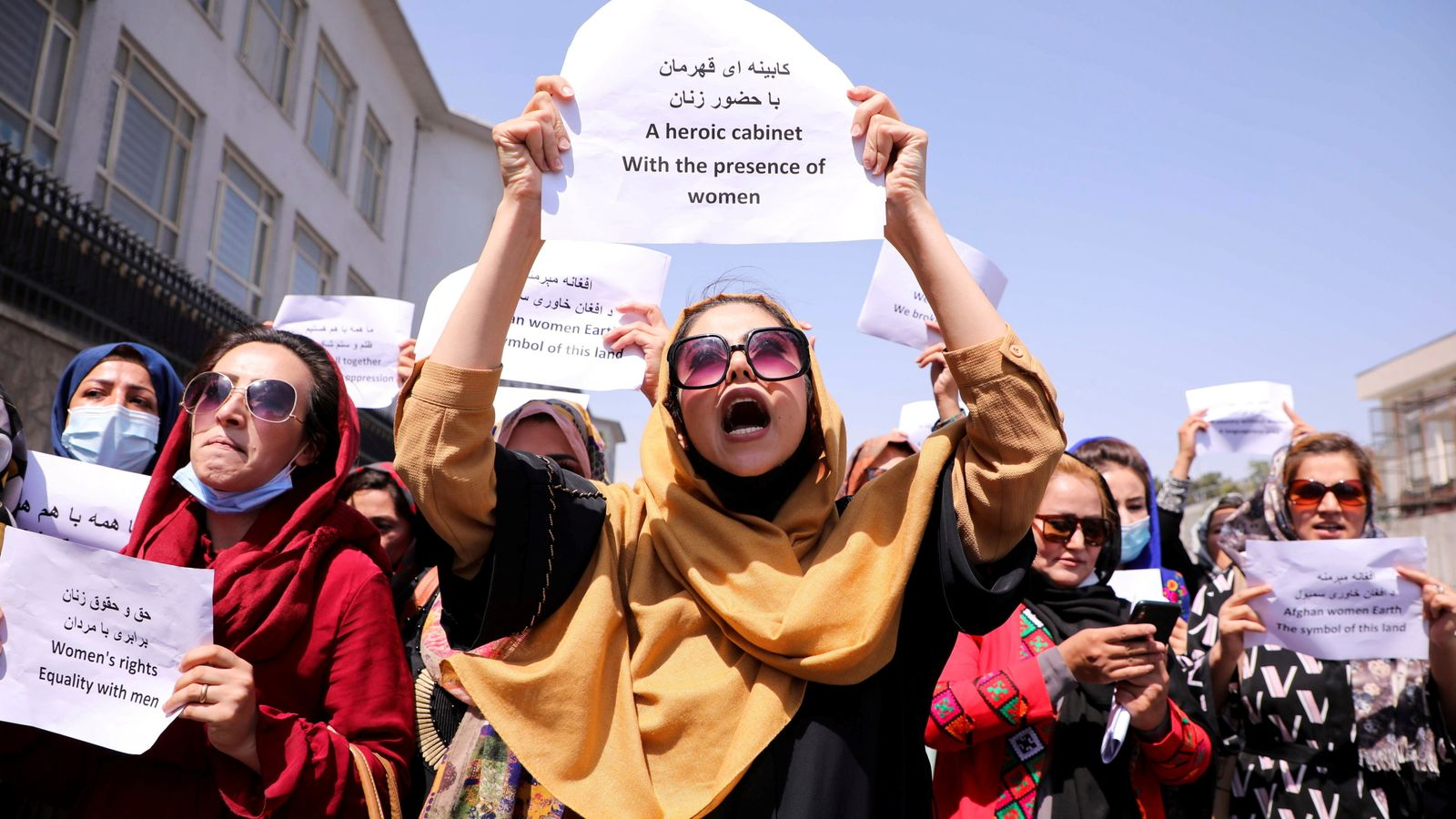 Afghan Women Take Initiative Of Resistance After Panjshir Was Conquered By Taliban