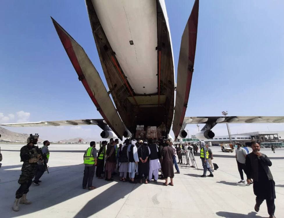 Back To Normal: Kabul Airport Reopened To Receive Aid, Taliban Fighters March In Victory Parade