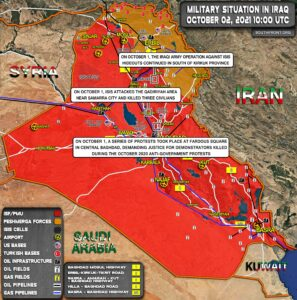 Military Situation In Iraq On October 2 (Map Update)