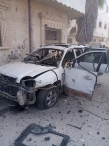 Assassination Attempt Targeted Molham Team Manager In Syria's Al-Bab (Photos)