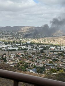 First Footage: Plane Crashed In Residential Area In California