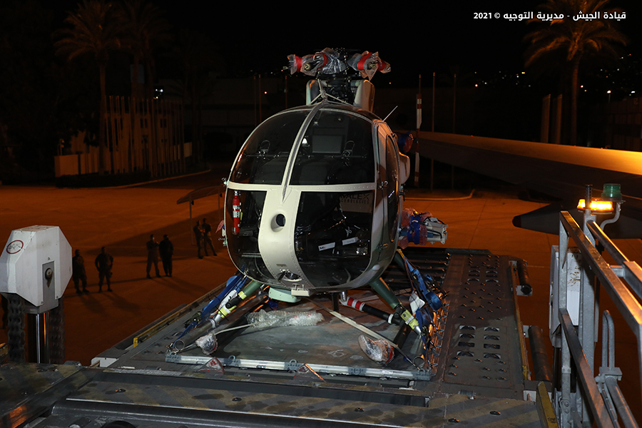 Lebanese Air Force Received Six Light Attack Helicopters From The US (Photos)