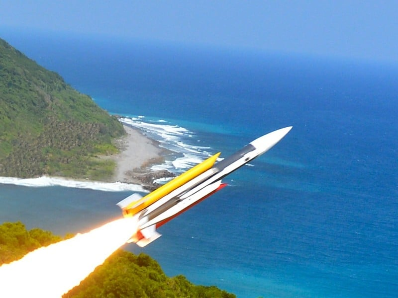 """Taiwan Acknowledges Existence Of Yun Feng Missile, As It Warns China """"Not To Play With Fire"""""""