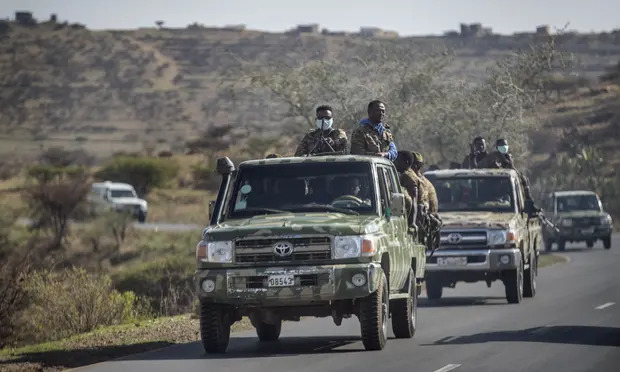 Ethiopian Army And Amhara Reinforcement Launch Wide-scale Offensive On Country's Afar Region