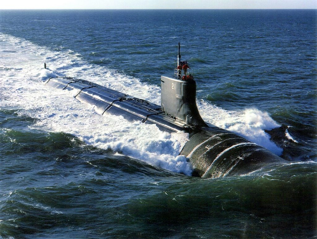USS Connecticut Nuclear-Powered Attack Submarine Suffered Underwater Collision In South China Sea