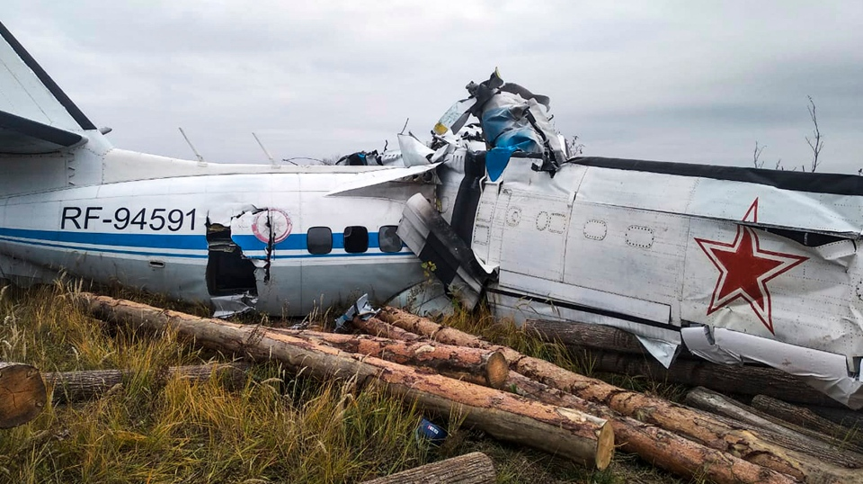 Plane Carrying Parachute Jumpers Crashed In Russia, Leaving 16 Dead