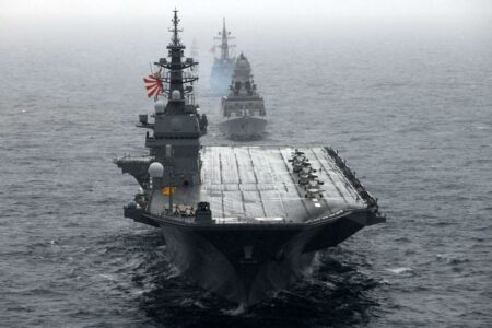 US Stealth Jets Become First Fighters To Fly From Japanese Ship Since WWII