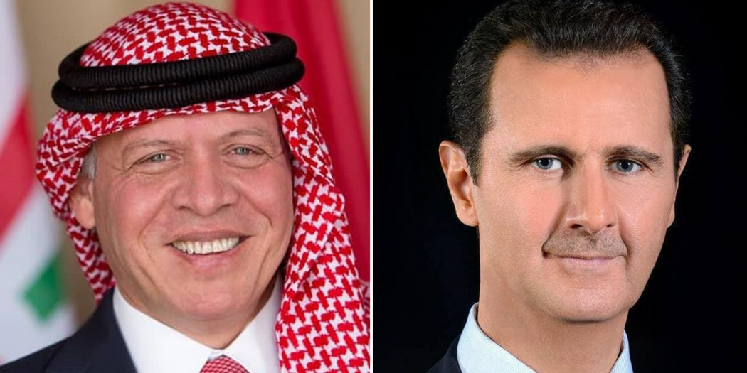King Abdullah Of Jordan Receives First Call From Syria's Assad In Decade